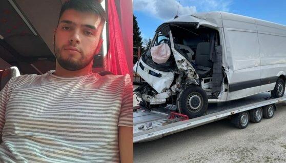 За кордоном молодий українець потрапив у жахливу автотрощу: потрібна допомога